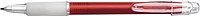 Carman pen with blue ink.Red