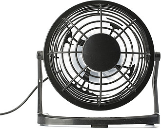 USB desk fan.Black