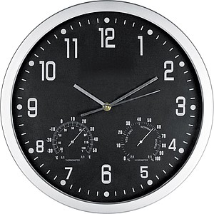 CrisMa wall clock, black