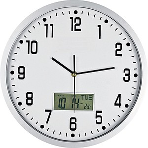 CrisMa Analogue wall clock, white