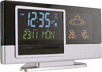 Weather station Black/silver