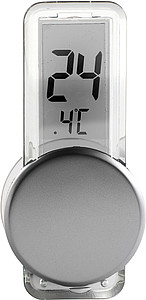 LCD thermometer Silver