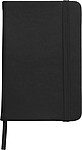 Notebook with a soft PU coverBlack