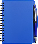 A6 Spiral notebook Blue