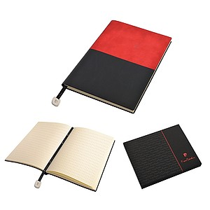 PC REPORTER Notepad A5, red