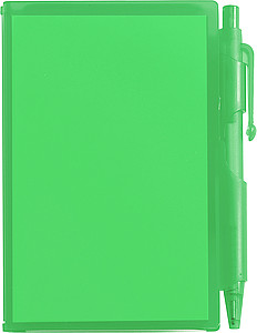 Notebook with penGreen