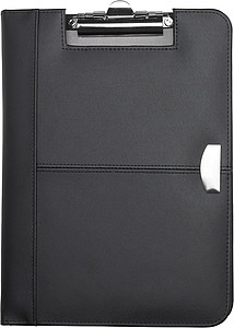 Bonded leather clipboard Black