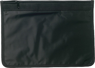 A4 nylon document bag Black