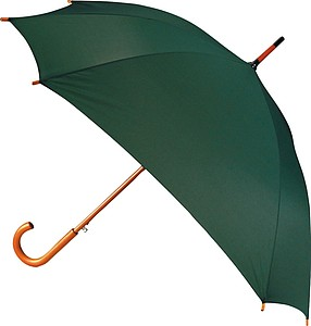 Automatic square umbrella, green