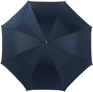 Umbrella with silver undersideBlue/silver