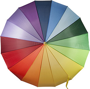 Multi coloured umbrella.Various