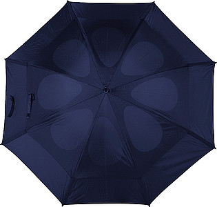 Storm-proof vented umbrella Blue