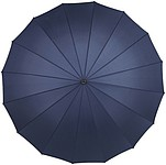 "25"" Manual opening umbrella Blue"