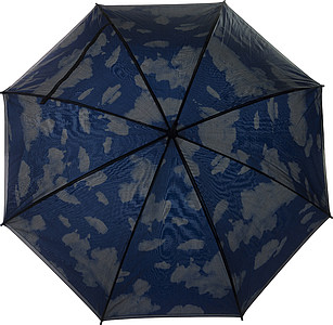 Double canopy umbrella Pale blue