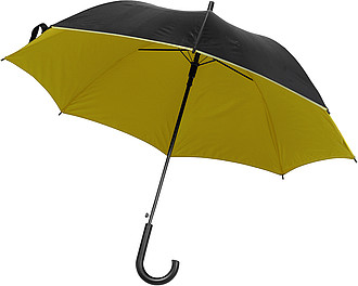 Umbrella with automatic opening.Yellow