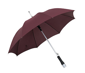 "Automatic golf umbrella ""Magic"" with polyester - pongee canopy,colour plum"