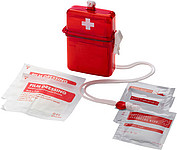 Waterproof first aid kit Red