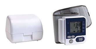 Blood pressure measuring device,colour white