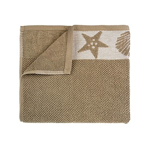 Joshuas Exclusive Towels, Summer 30x50 cm, Warm Taupe. 600 gr./m2