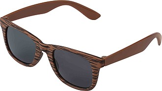 Sunglasses with wood look