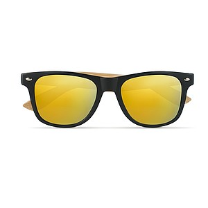 Sunglasses with bamboo arms