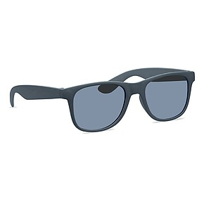 Classic and stylish sunglasses made of 45% Bamboo fibre and 55% PP. UV 400 protection.