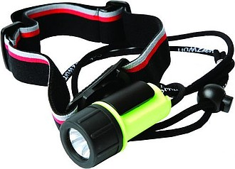 SCHWARZWOLF ATON Led flashlight/headlight, include batteries