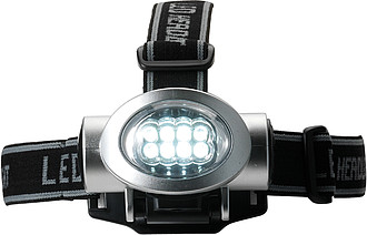 Head light with 8 LED lightsSilver