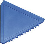 Triangular plastic ice scraperBlue