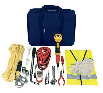 "Car emergency kit ""Man-power"",colour blue"