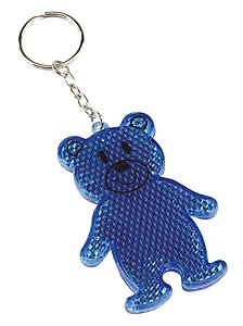 "Reflector bear ""Teddy"",colour blue"