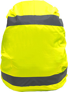 High visibility backpack coverYellow