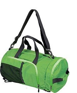 SCHWARZWOLF BRENTA foldable sport bag/backpack, green