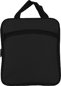 Polyester foldable travel bag.Black