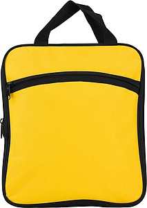 Polyester foldable travel bag.Yellow