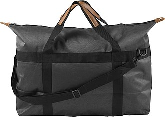 Large polyester sports/weekend bag