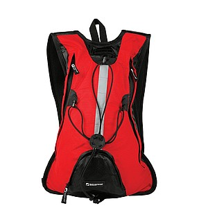 SCHWARZWOLF ROVER Bicycle backpack, 10 l, red
