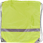Drawstring backpackYellow