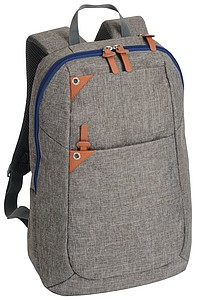 "Rucksack ""Aberdeen"",brown/blue"