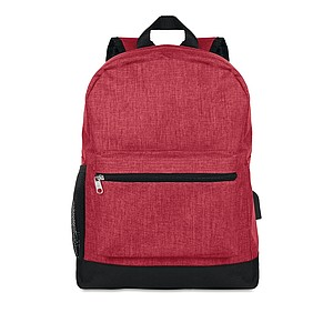 600D 2 tone polyester backpac