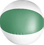 Beach ball, 35cms deflatedGreen