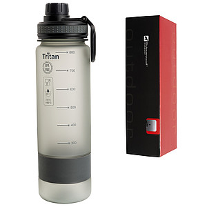 SCHWARZWOLF KIBO sports tritan bottle, grey