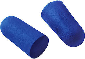 Memory foam earplugs