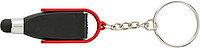 Steel key chain with tip for capacitive screens