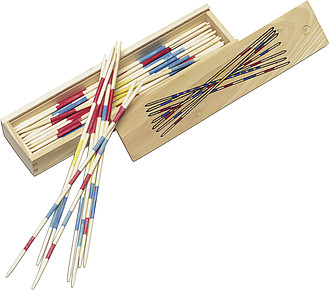 Mikado game in wooden boxNeutral