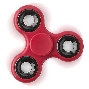 ABS fidget spinner, red