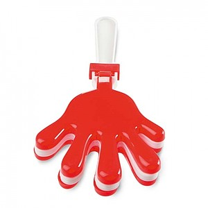 Hand clapper, red