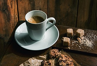 VS TAMBORA set of 6 cups and saucers for presso