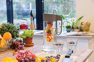 Tritan 2L fruit infusion pitcher