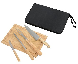 "Carving Set, 6 pcs. ""Best BBQ"""